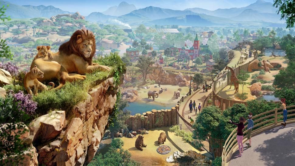 Planet Zoo anunciado para PC