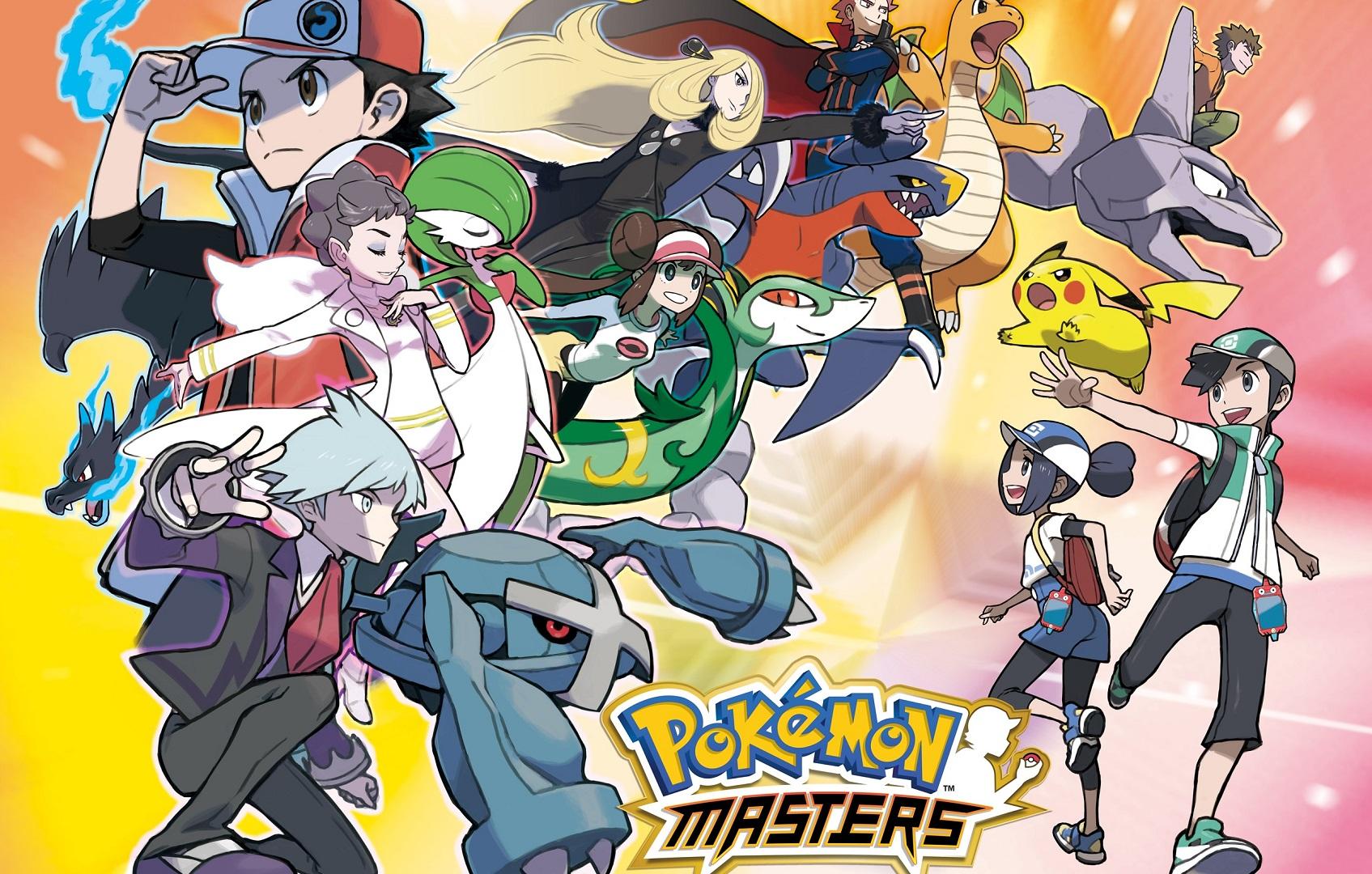 Pokemon Masters lança este verão, novo vídeo de visualização
