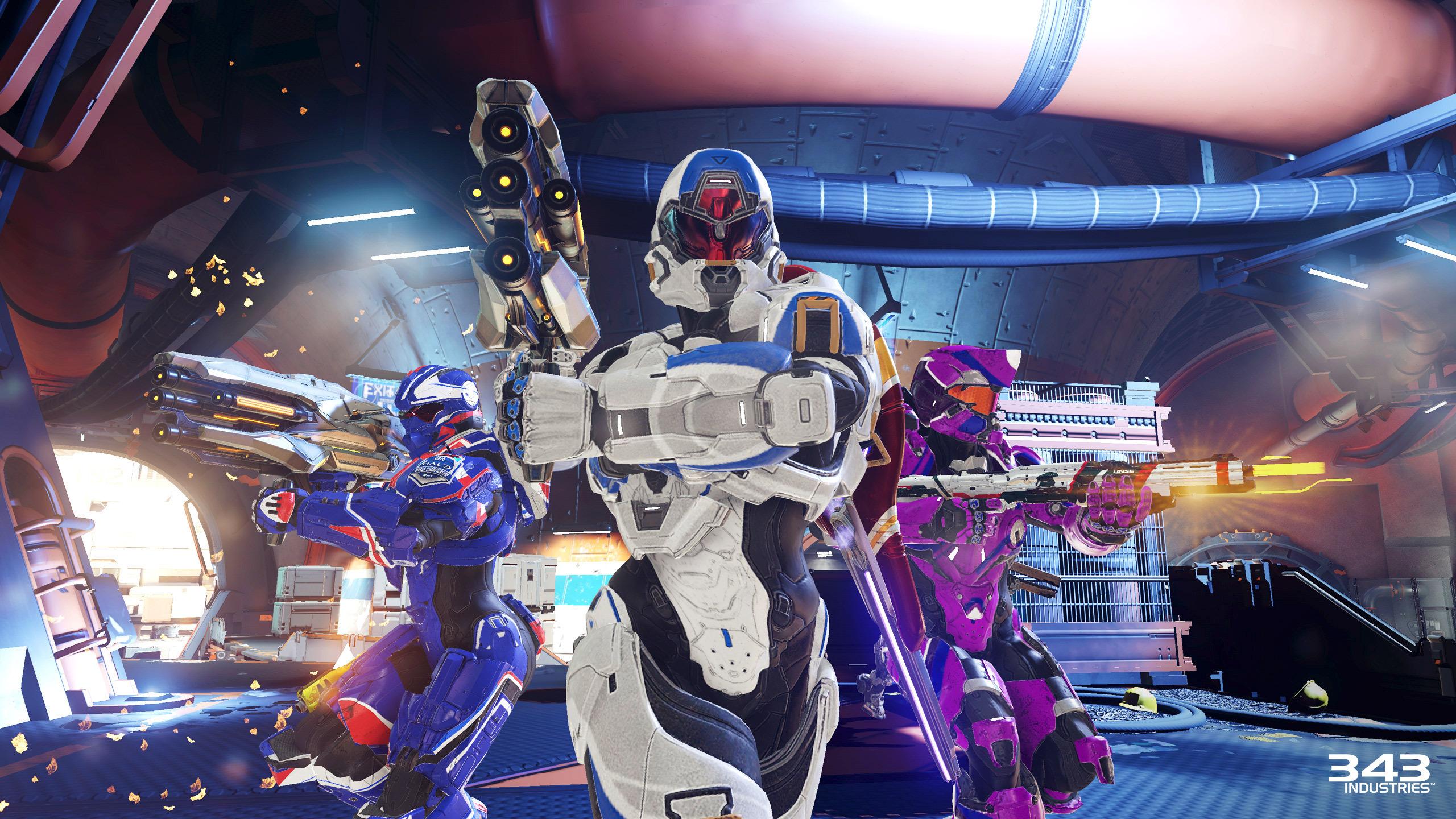 Primeiro olhar para o Warzone Firefight em Halo 5: Guardians