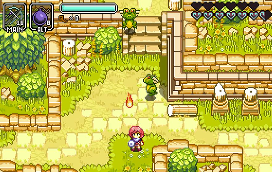 Primeiro teaser do jogo Metroidvania tipo Zelda, Hazelnut Bastille