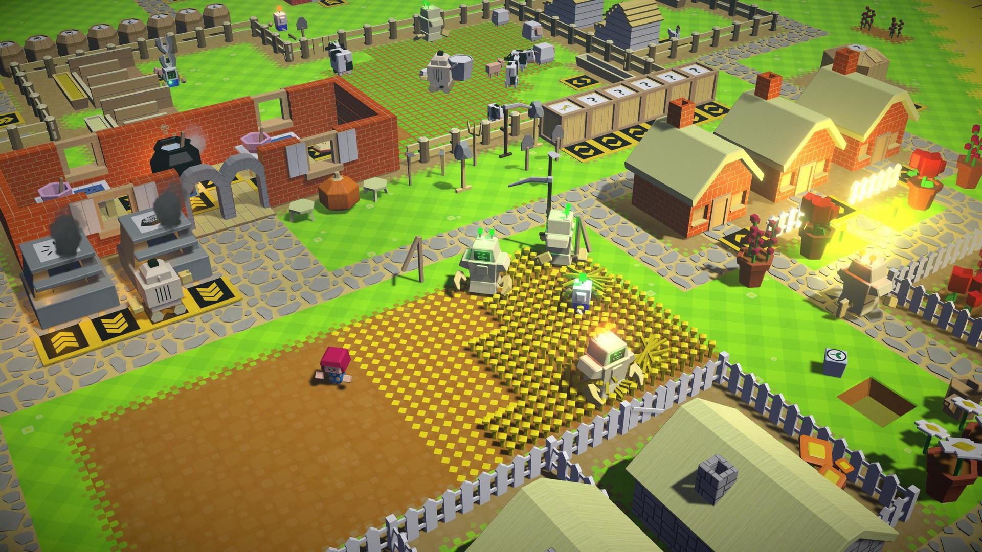Programação do jogo sandbox