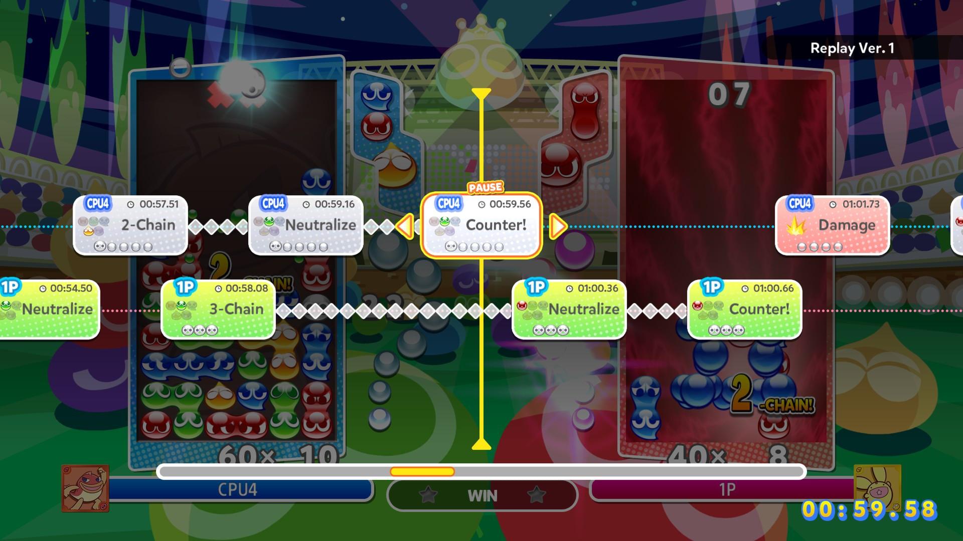 Puyo Puyo Captura de tela