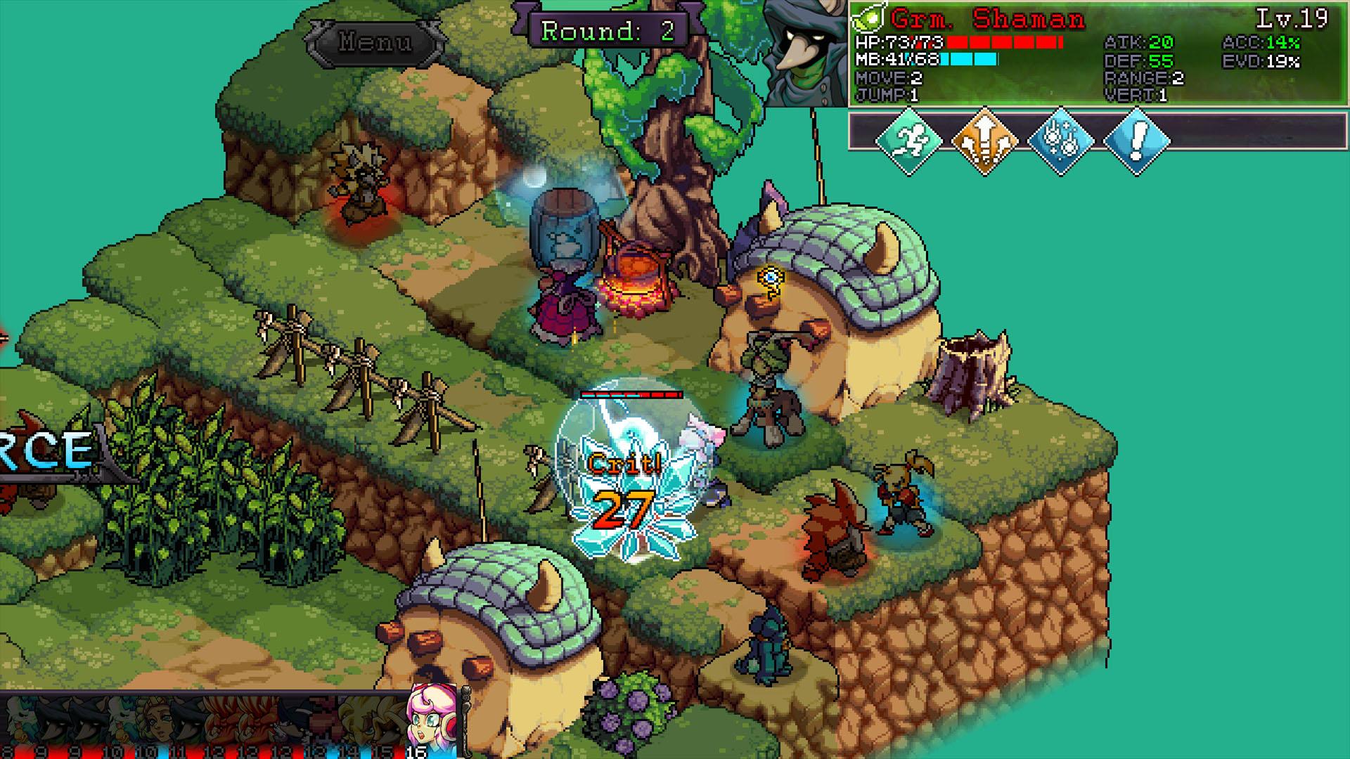 "RPG tático baseado em turnos ""Fae Tactics"" anunciado para PC"