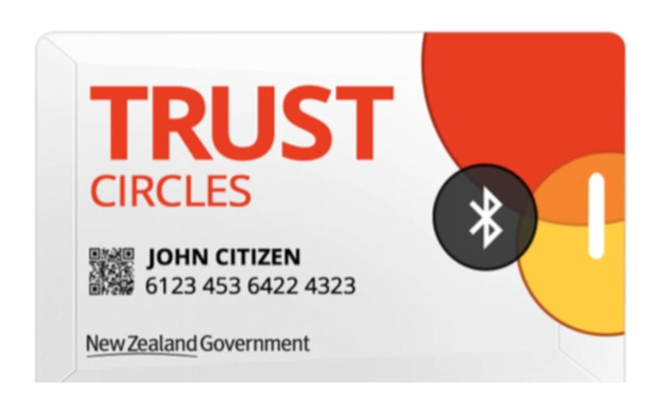 Rastreamento de contato sem telefone CovidCard proposto na Nova Zelândia