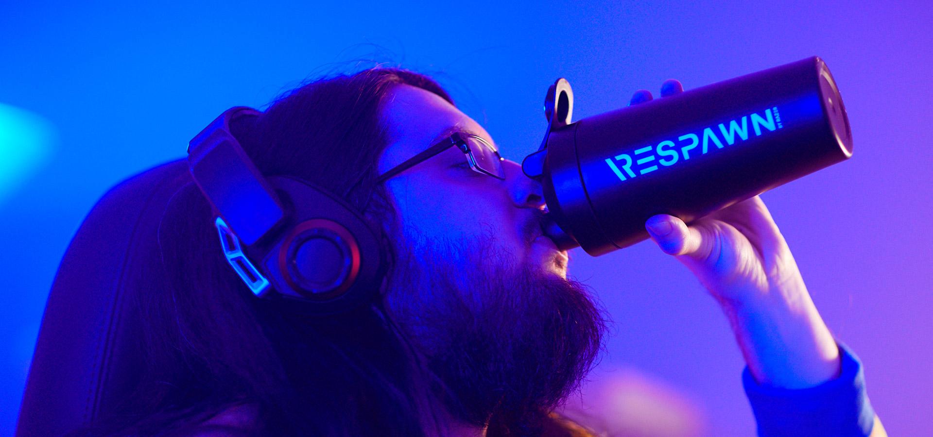Razer anuncia bebida energética com desempenho para jogadores, RESPAWN