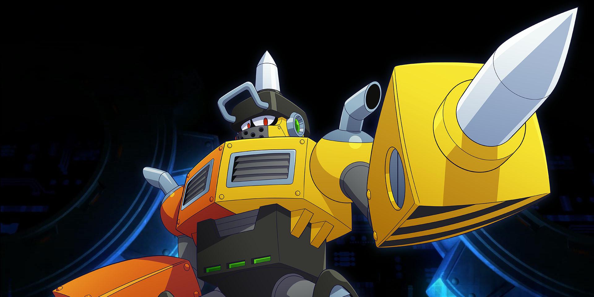 Revelado o Impact Man para Mega Man 11