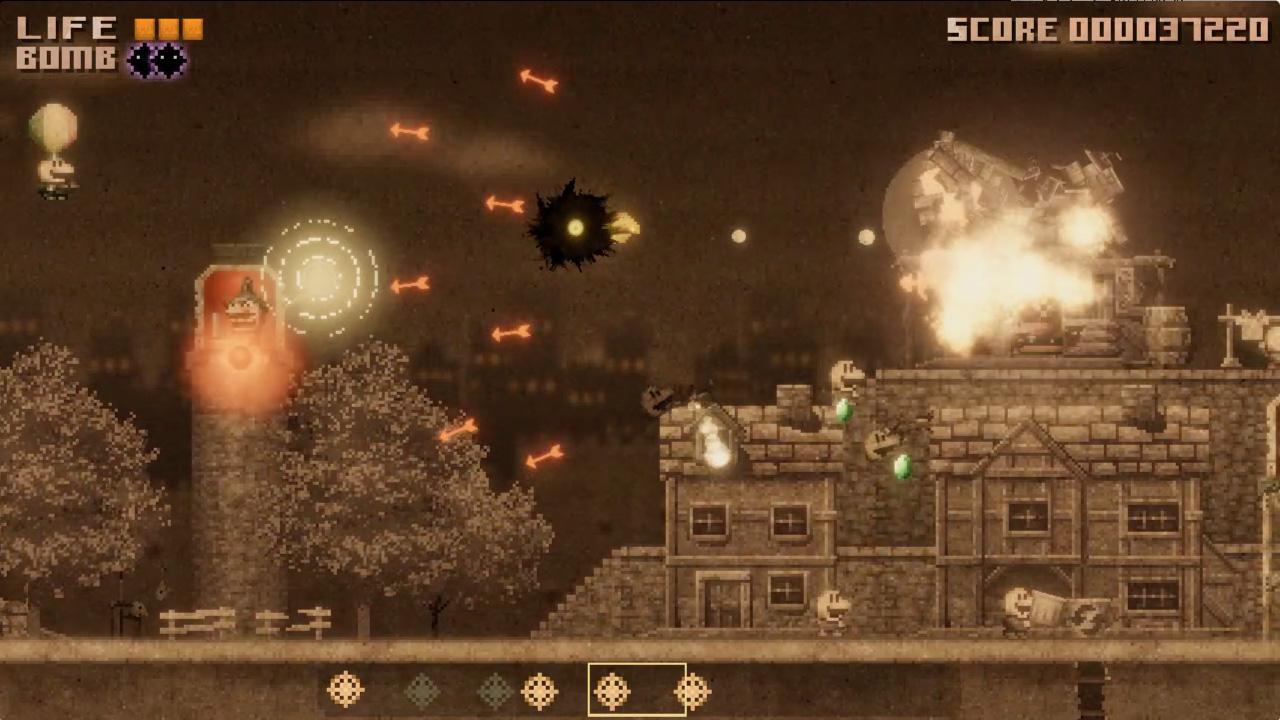 """Shmup japonês escuro e bobo Indie lança """"Black Bird"""" para PC ..."""