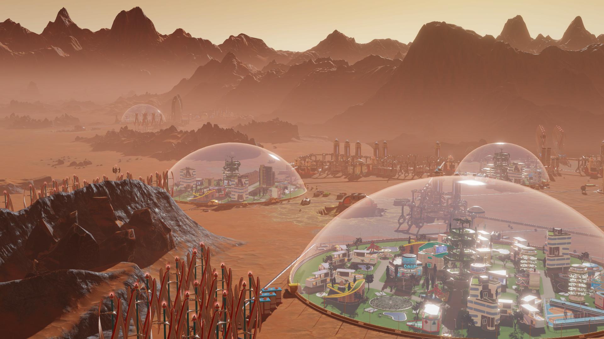 Surviving Mars ganha um fim de semana grátis, novo DLC