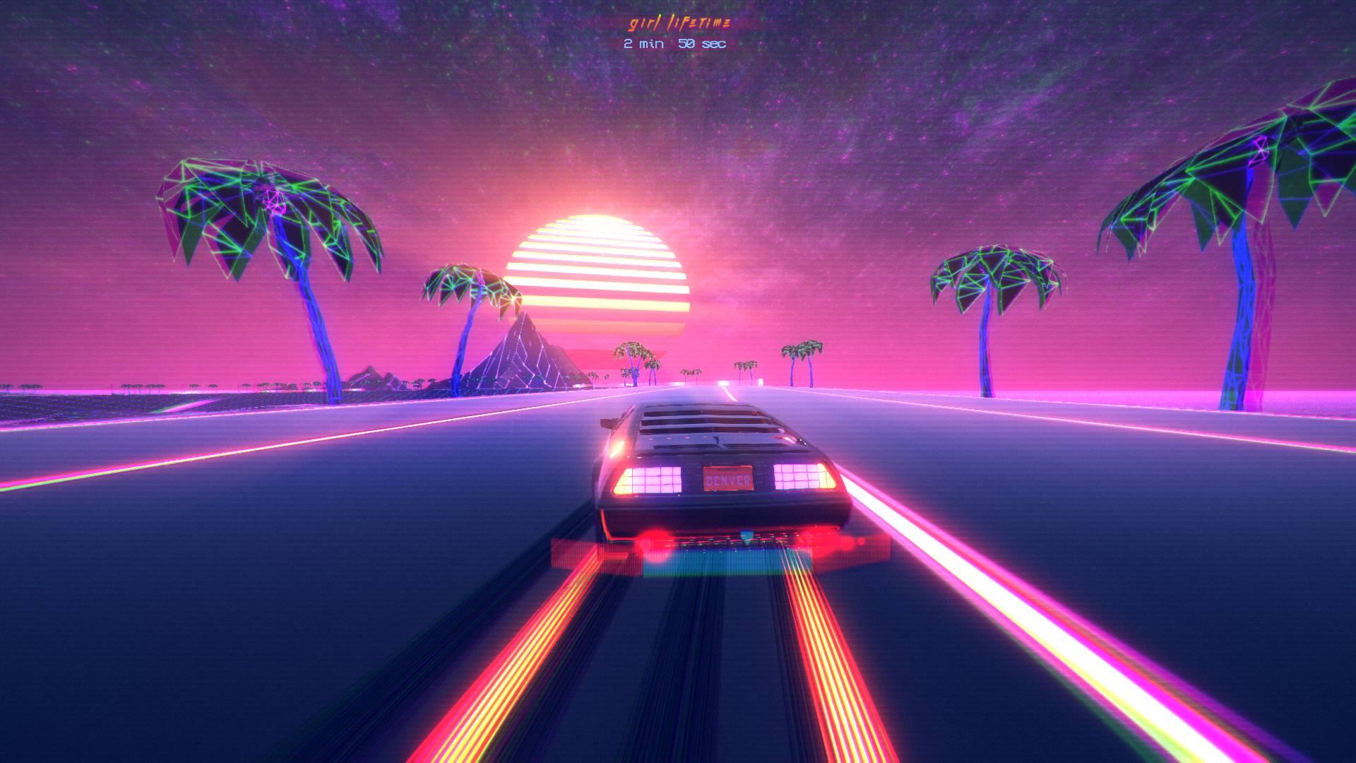 Synthwave Racer OutDrive obtém conquistas do Steam