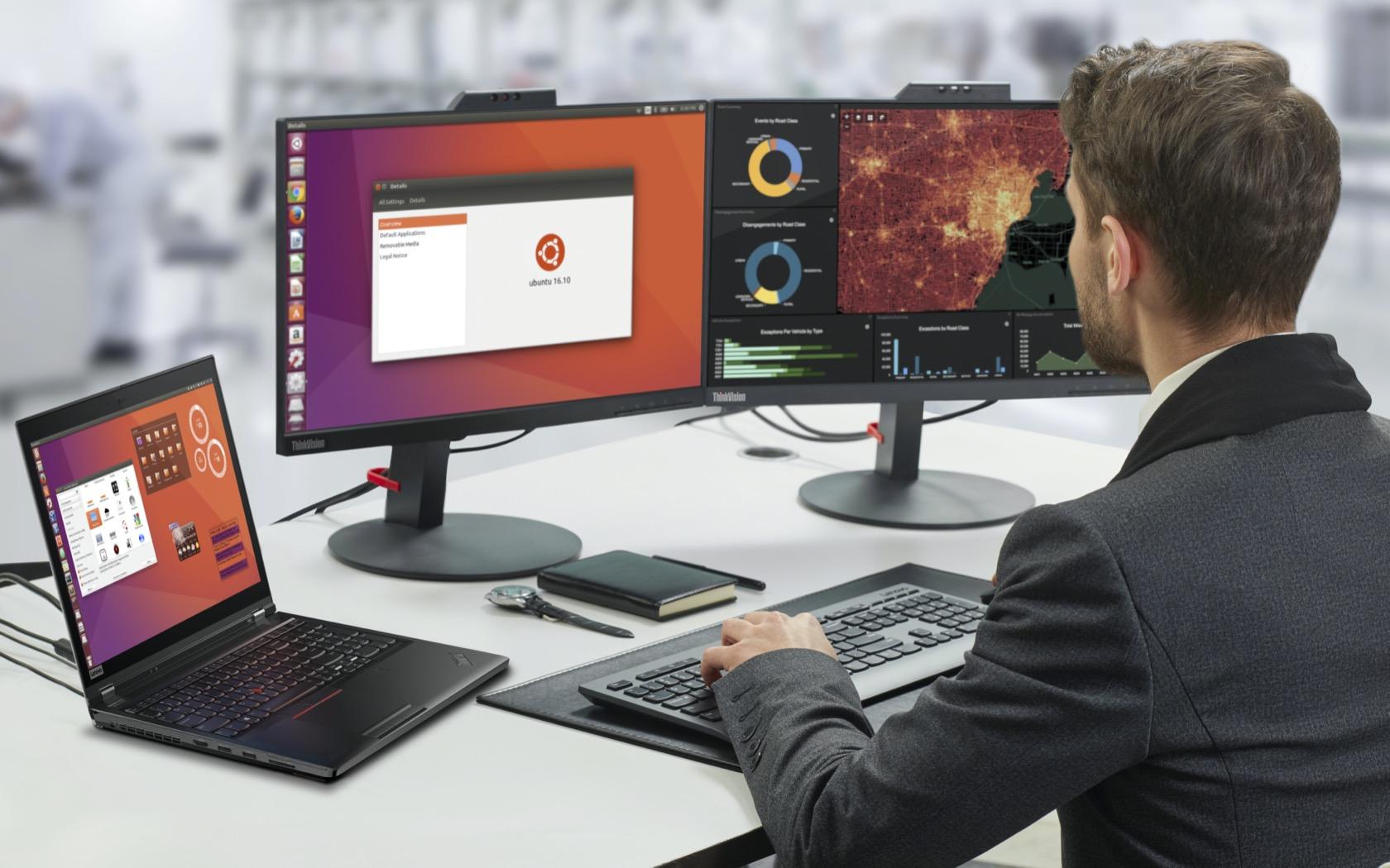 Todas as estações de trabalho Lenovo ThinkPad e ThinkStation têm certificação Linux