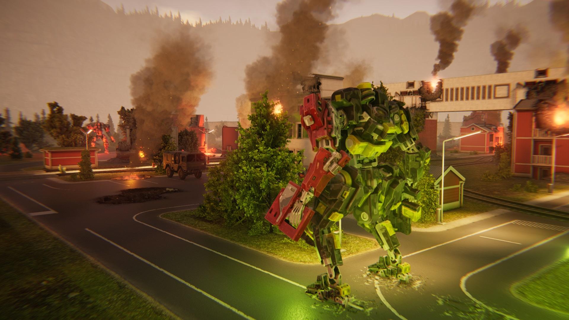 Trailer da E3 2019 para jogo baseado em turnos Mecha Tactics Brigada Fantasma