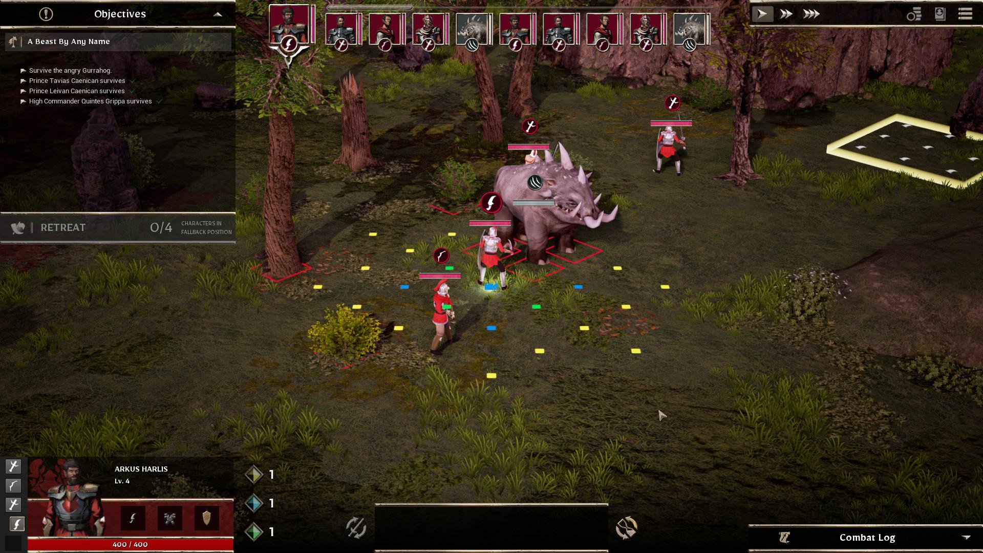 Trailer de novos recursos para RPG tático forjado de sangue