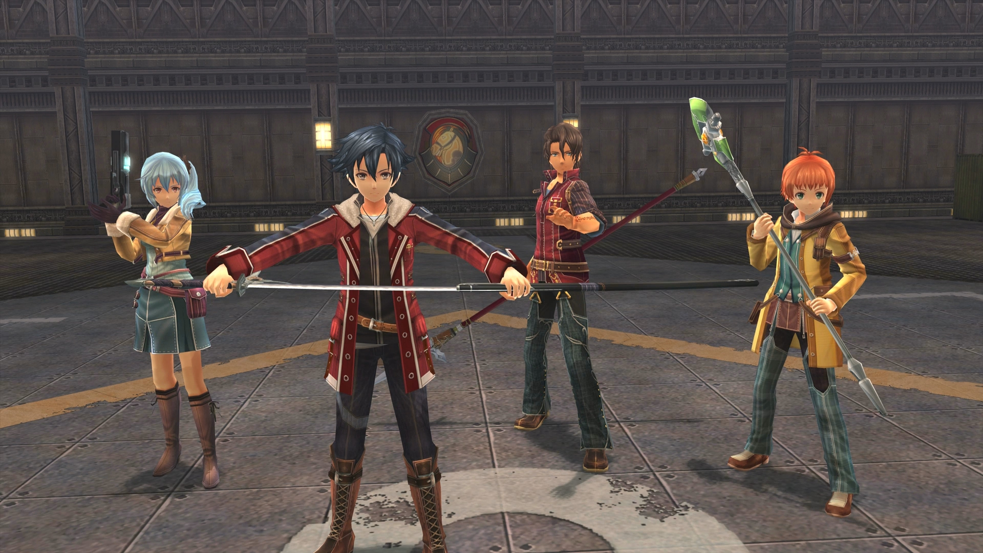 Versão PS4 de The Legend of Heroes: Trails of Cold Steel ...