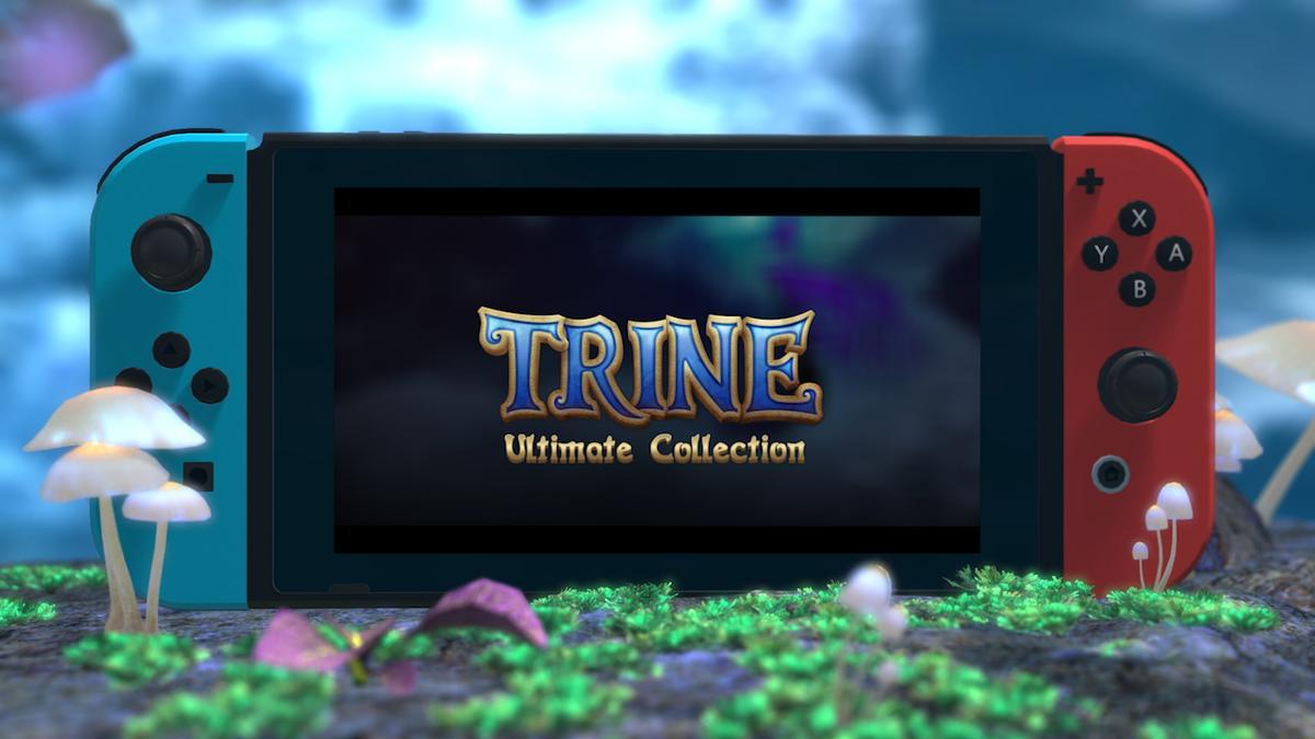 Versão do Switch anunciada para Trine: Ultimate Collection