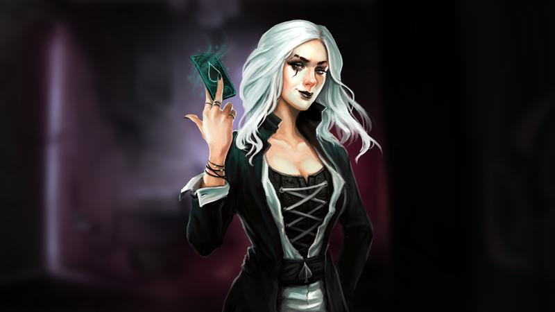 Wadjet Eye busca financiamento coletivo para novo RPG de vampiro baseado em texto, Nighthawks