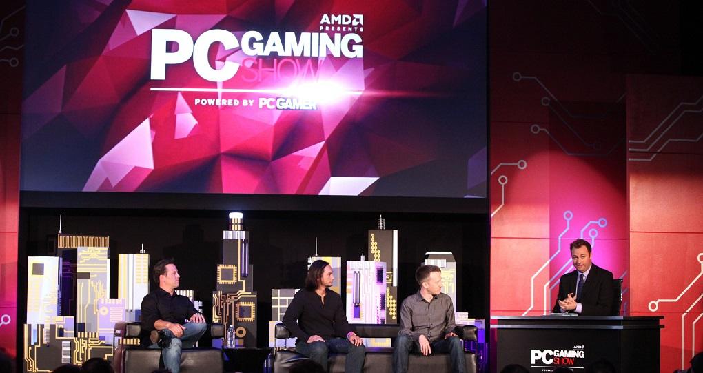Windows 10 e Xbox no PC Gaming Show