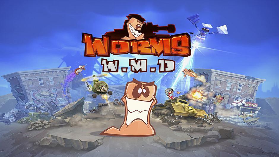 Worms WMD cai no campo de batalha hoje