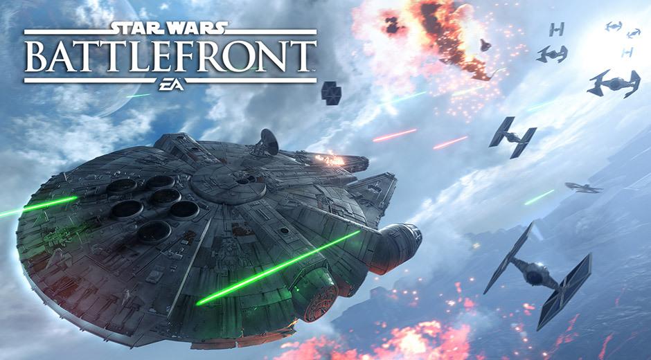 X-Wing e TIE Fighters brilham no Star Wars Battlefront