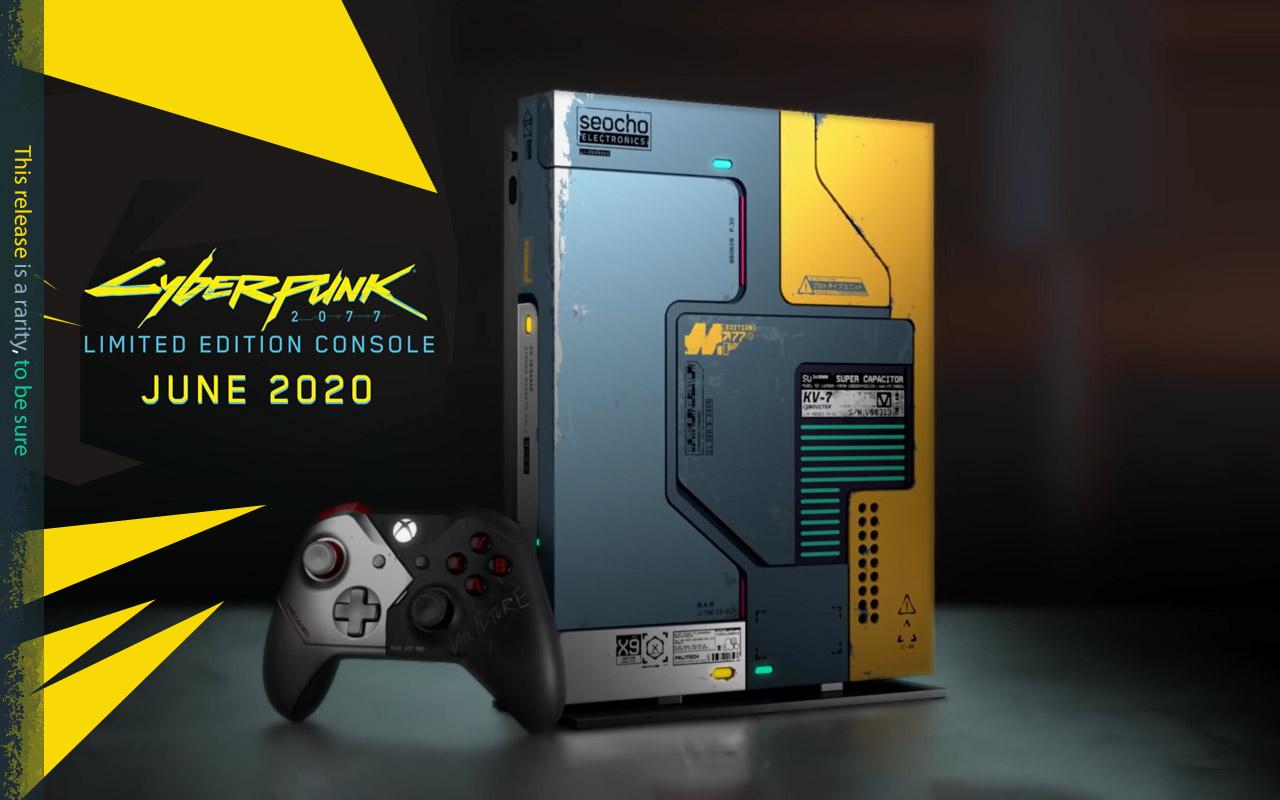 Xbox One X Cyberpunk 2077 Limited Edition Bundle parece tão radical ...