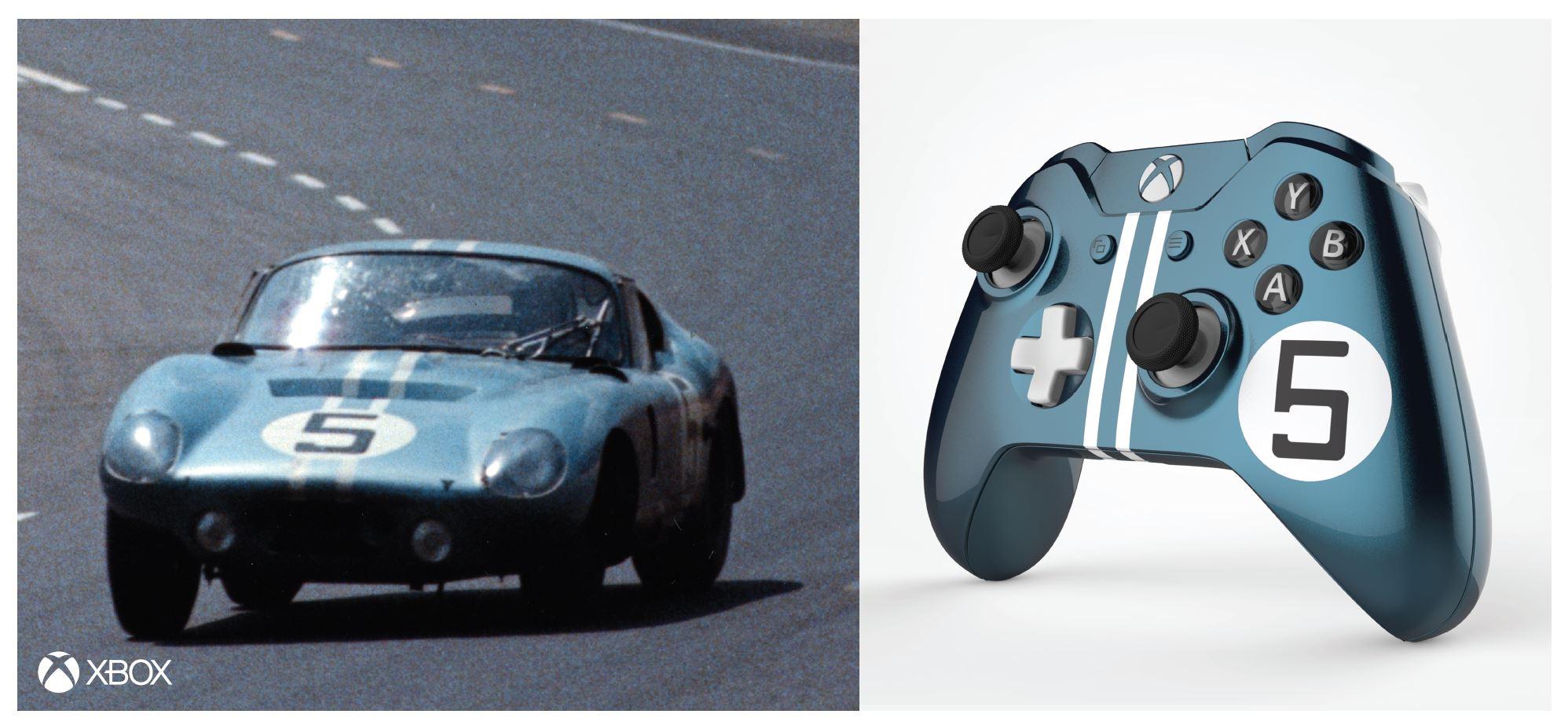 Xbox cria controladores únicos para celebrar as vitórias históricas da Ford em Le ...
