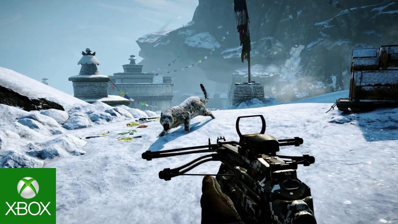 gamescom 2014: Aproveitando o Shangri-La místico de Far Cry 4