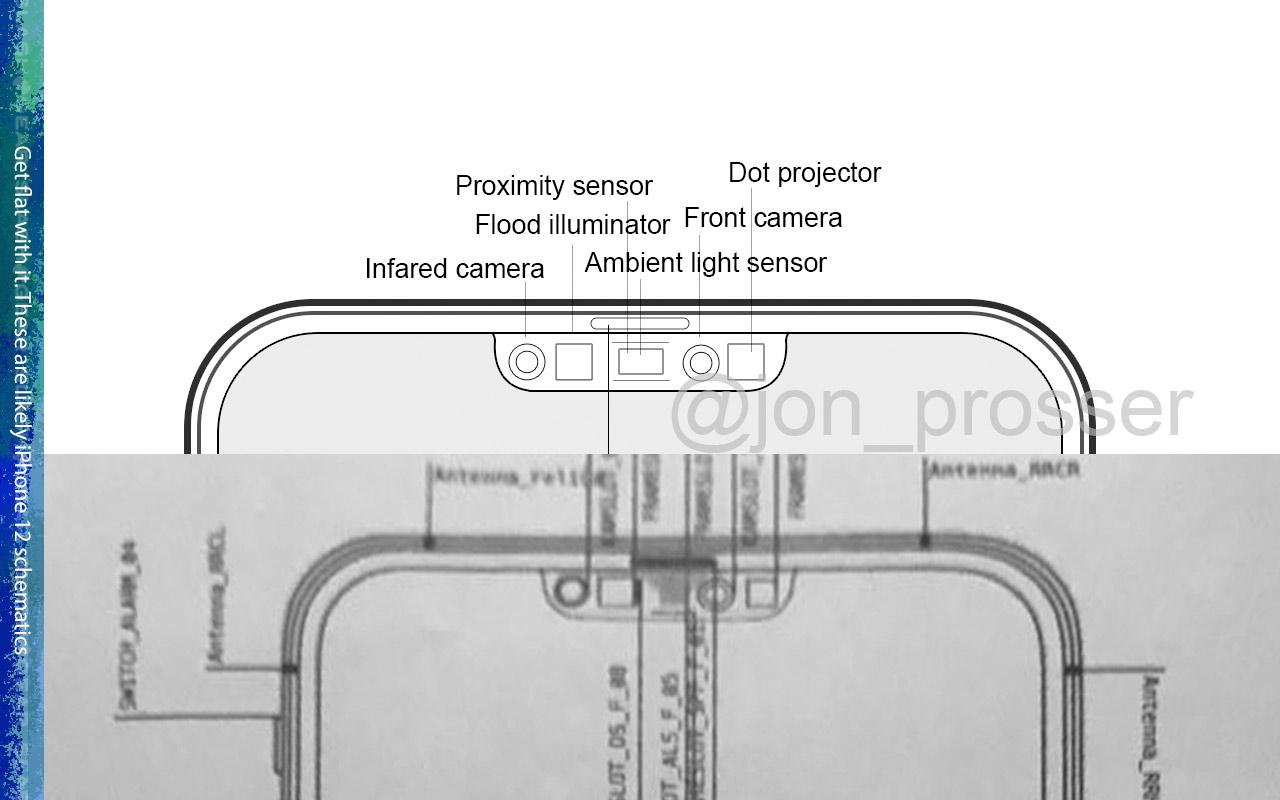 segredos do iPhone 12 vazaram na planta do telefone
